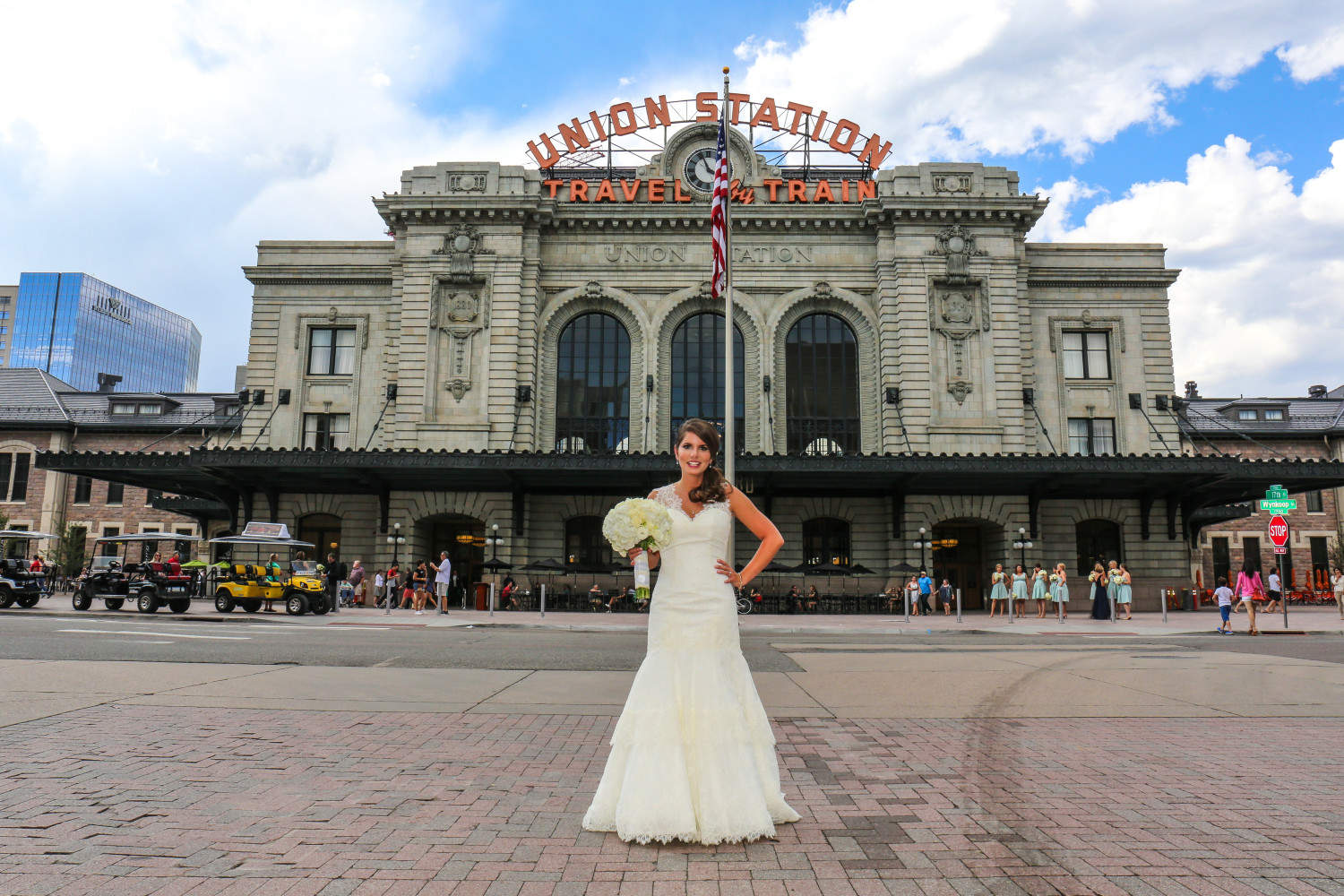 Union Station Bride www.aquinnphotography.com