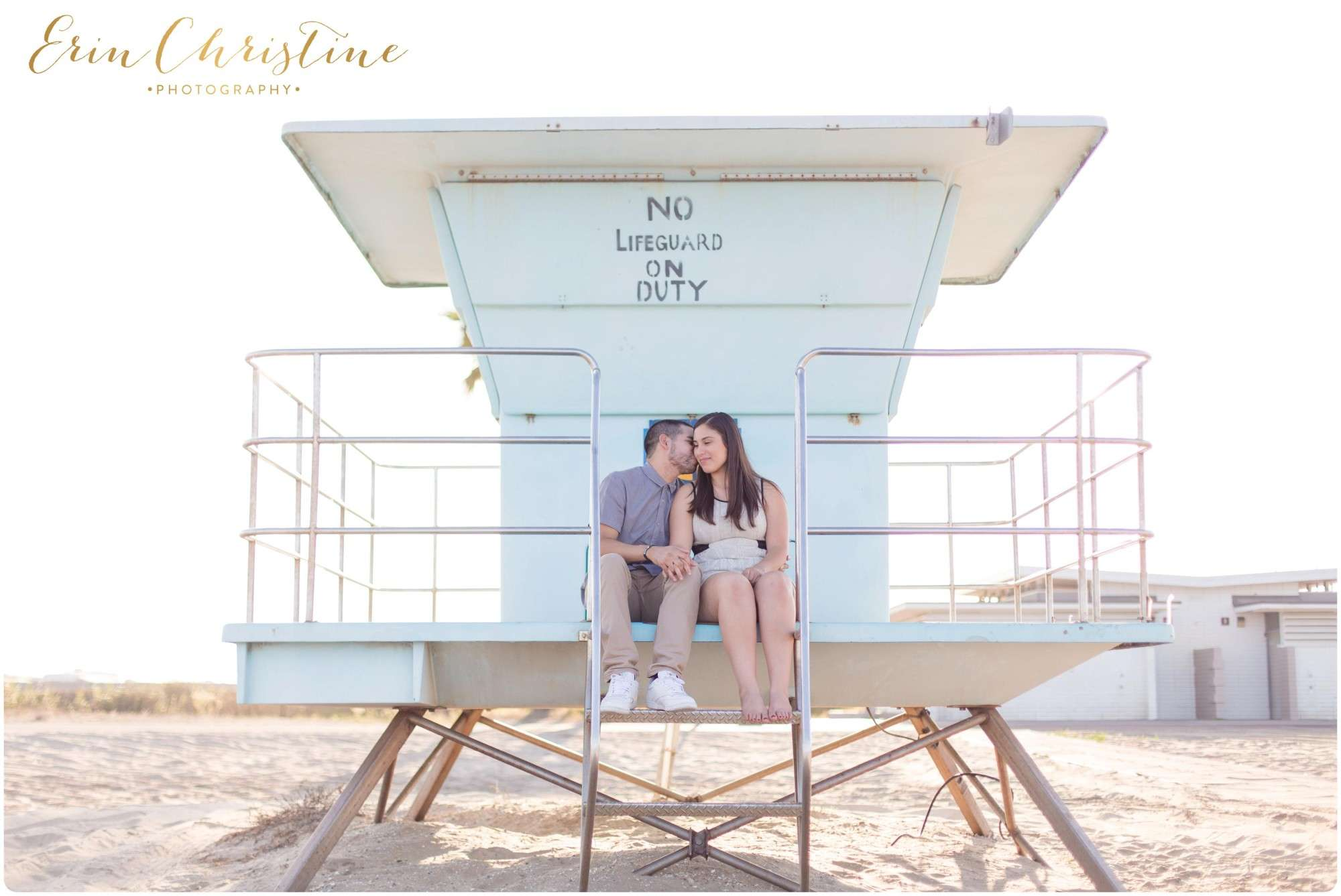 Romantic Beach Engagement in San Diego
