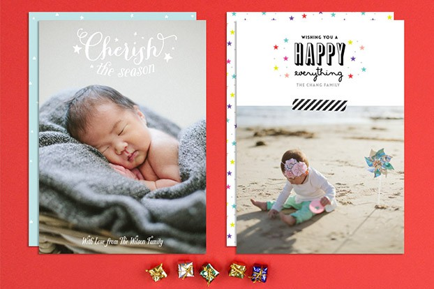 baby holiday cards