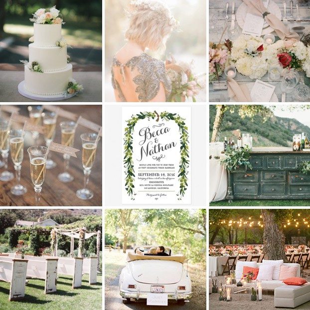 wedding inspiration floral wedding