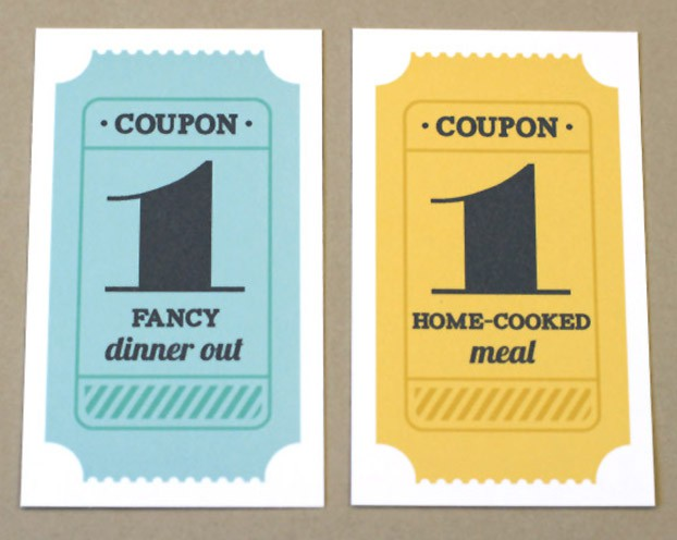 Printable Gift Coupons