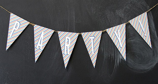 party bunting flags