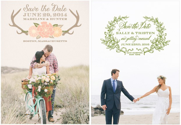 antlers save the dates