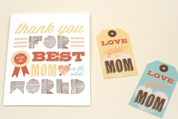 Printable Best Mom Cards