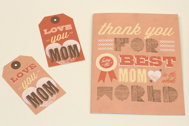 thank you for being the best mom in the world card