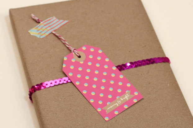Bright Holiday Gift Tags
