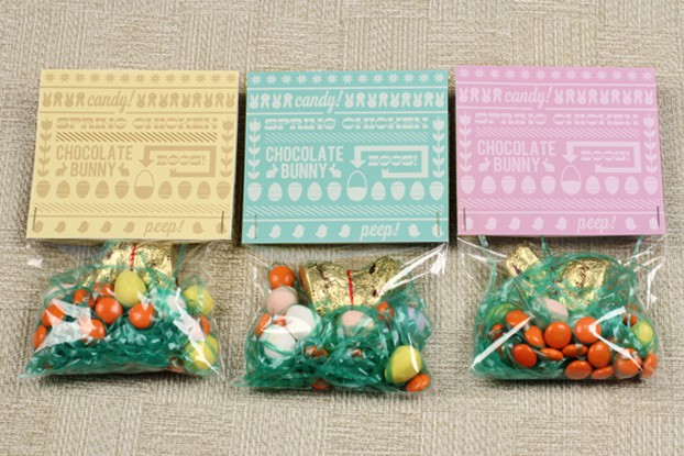 printable easter candy bag