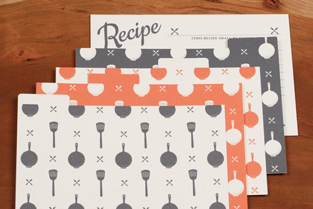 Printable Vintage Recipe Card