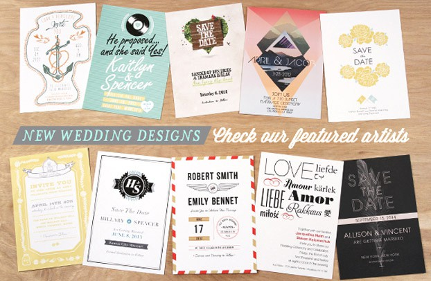 New Wedding Invitation Designs from around the world