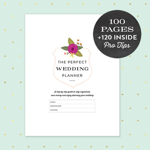 graphic relating to Printable Wedding Planner identify Printable Wedding ceremony Planner PDF