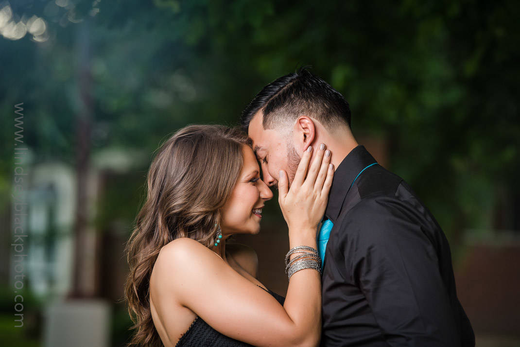Utah Wedding Photographer | Lindsey Black | Ninth and Ninth Engagement Photo of couple in love