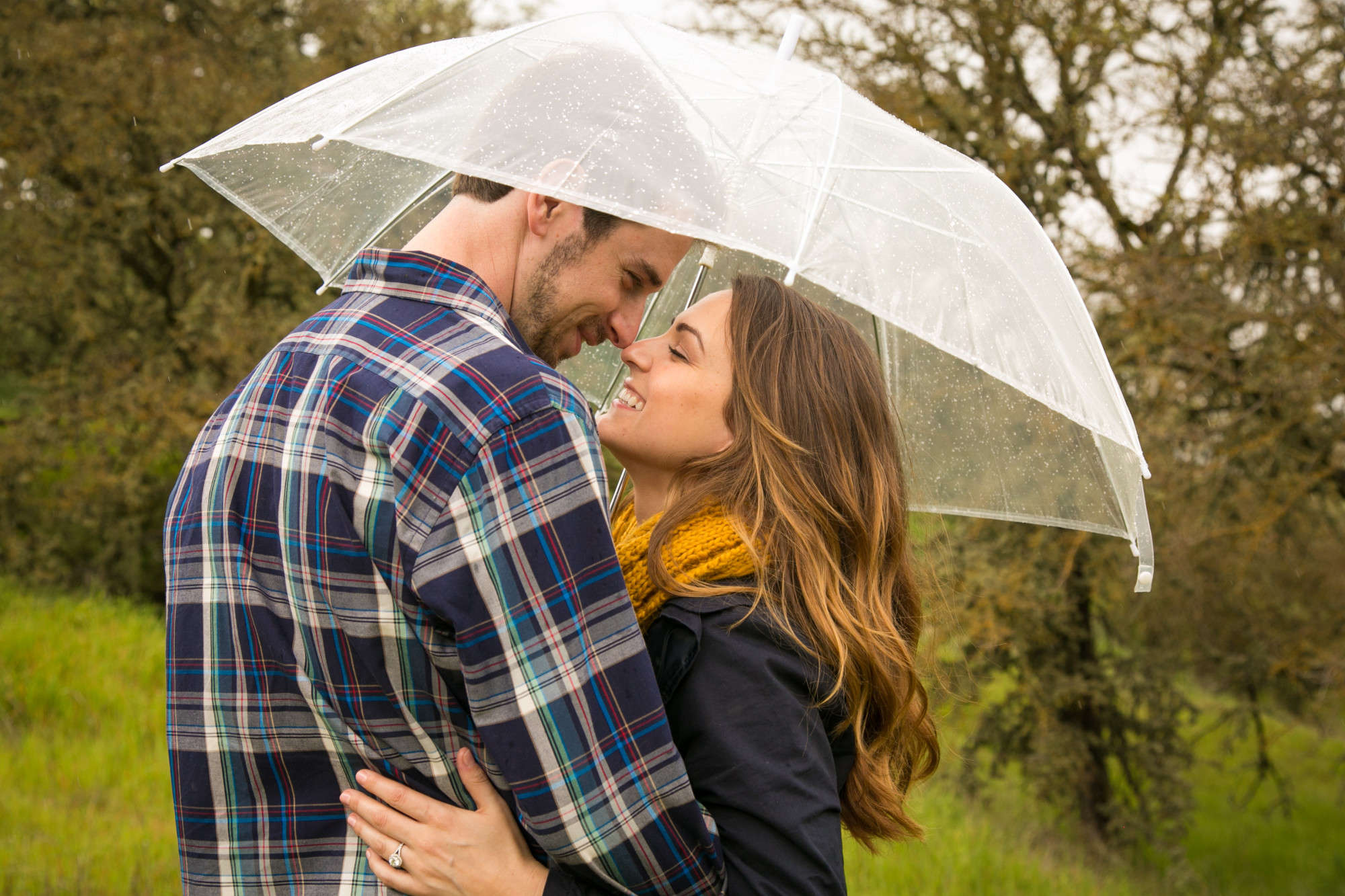 A. Blake Photography: A rainy engagement session in Paso Robles, CA