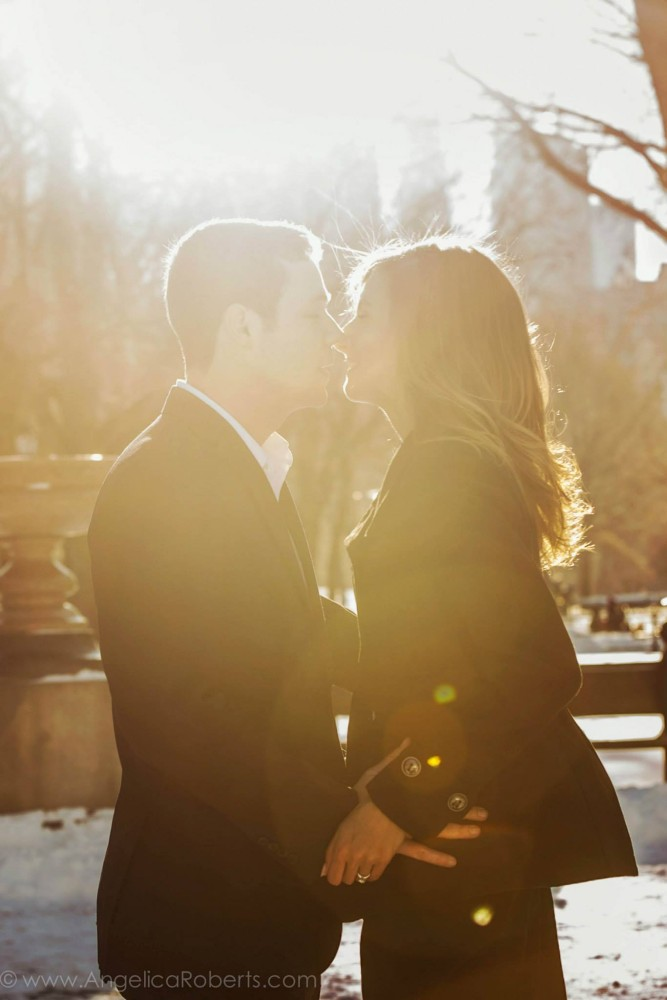 Angelica Roberts Photography - Central Park Engagement shoot 1