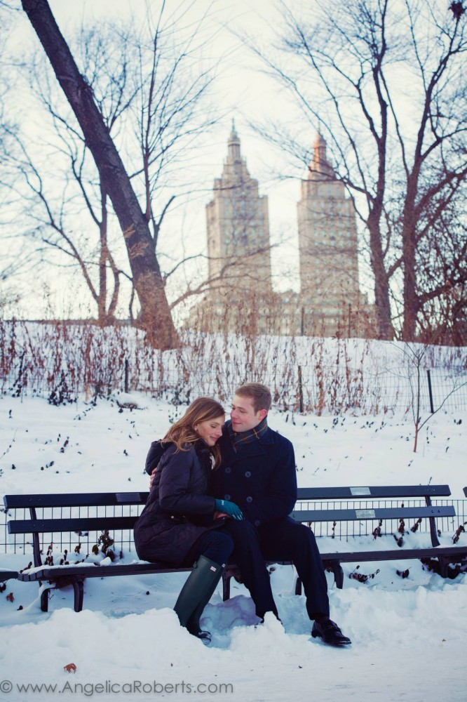 Angelica Roberts Photography - Central Park Engagement shoot 20