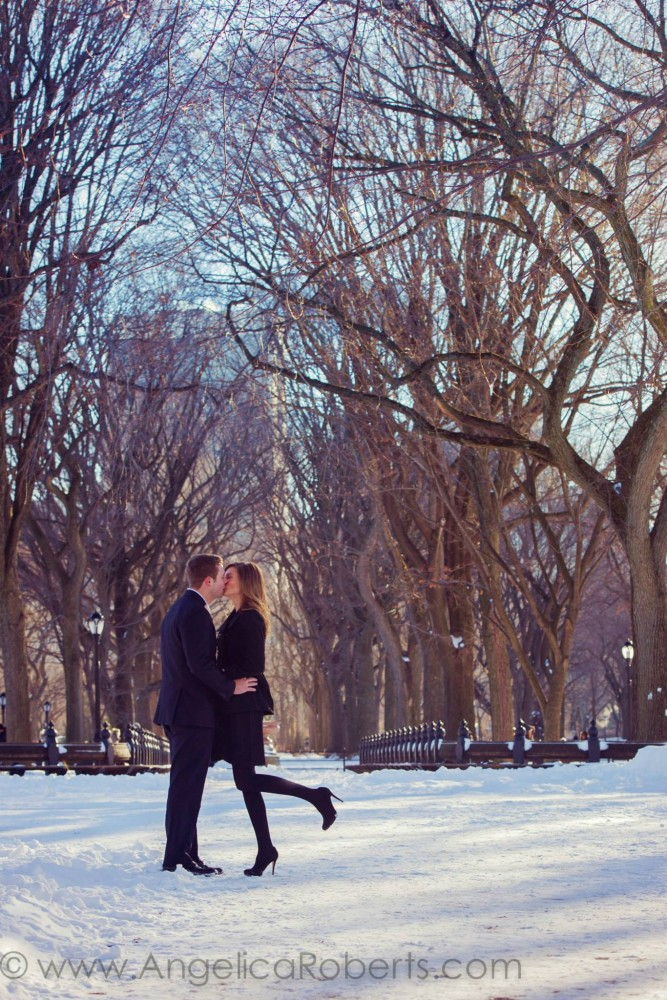 Angelica Roberts Photography - Central Park Engagement shoot 3