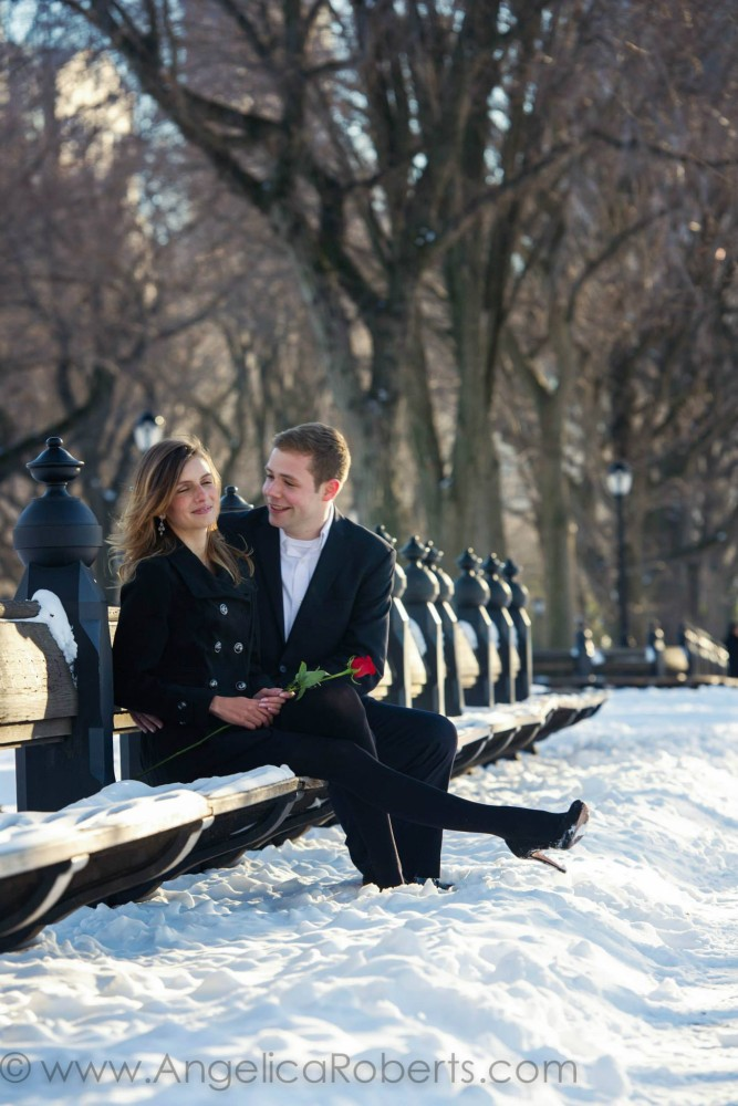 Angelica Roberts Photography - Central Park Engagement shoot 6