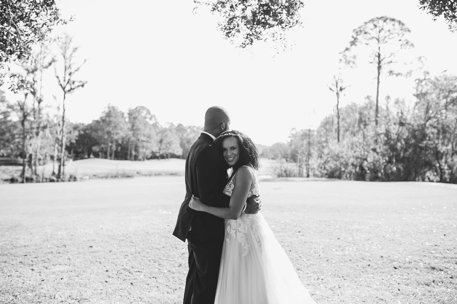 Atlanta wedding photographer black and white