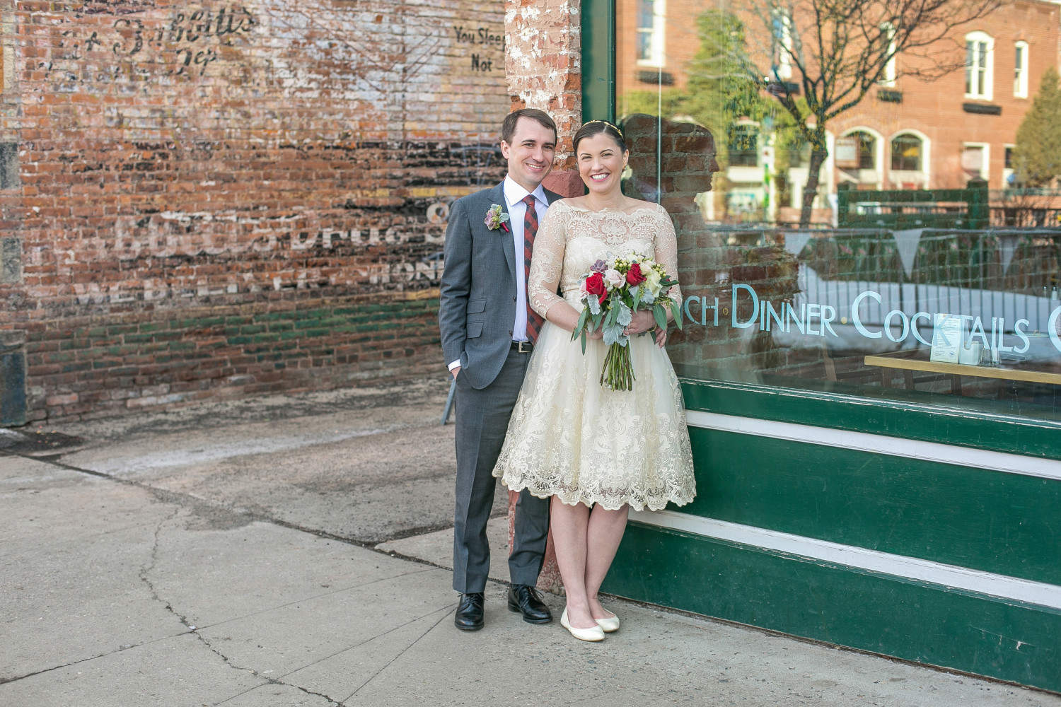 Saaty Photography: Katherine and Chris's Downtown Flagstaff Wedding