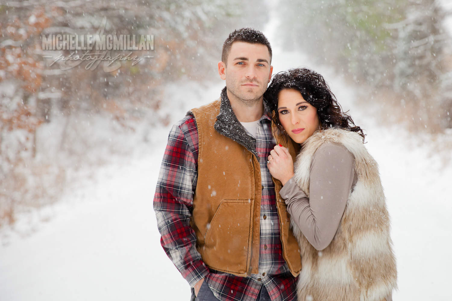 Engagement snow session