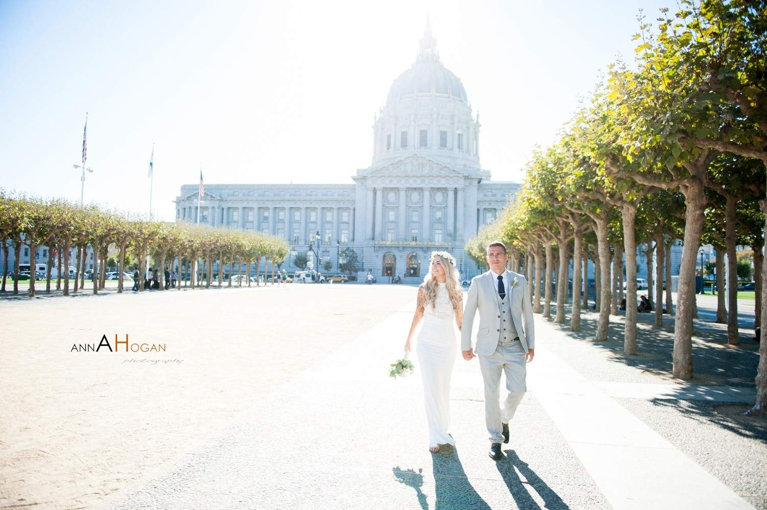 San Francisco City Hall Wedding Photography by Anna Hogan