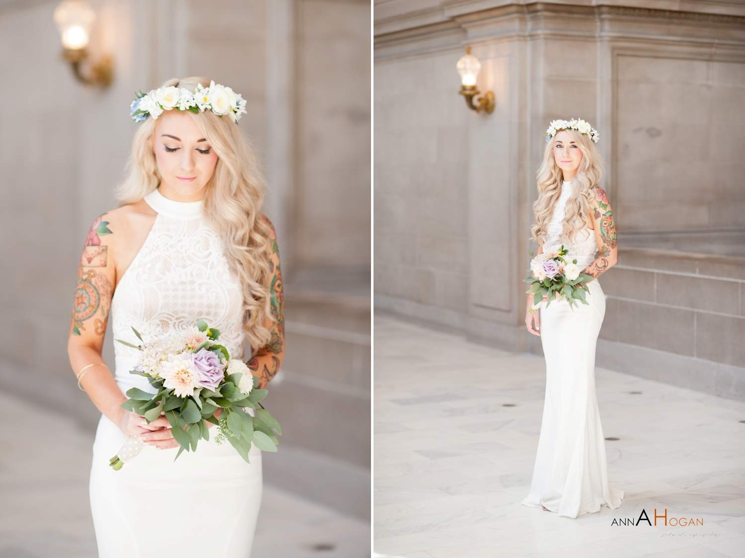 San Francisco City Hall Wedding Photographer Ceremony At 0026