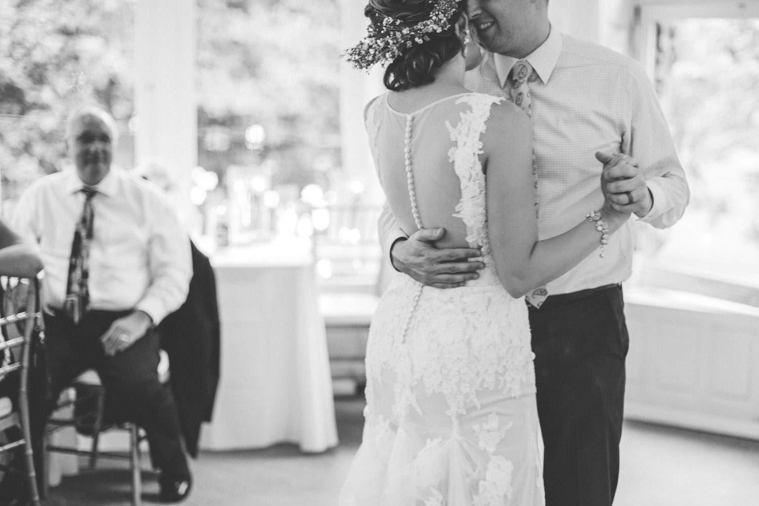 Seattle Wedding Photographer Downtown Seattle First Dance Photo