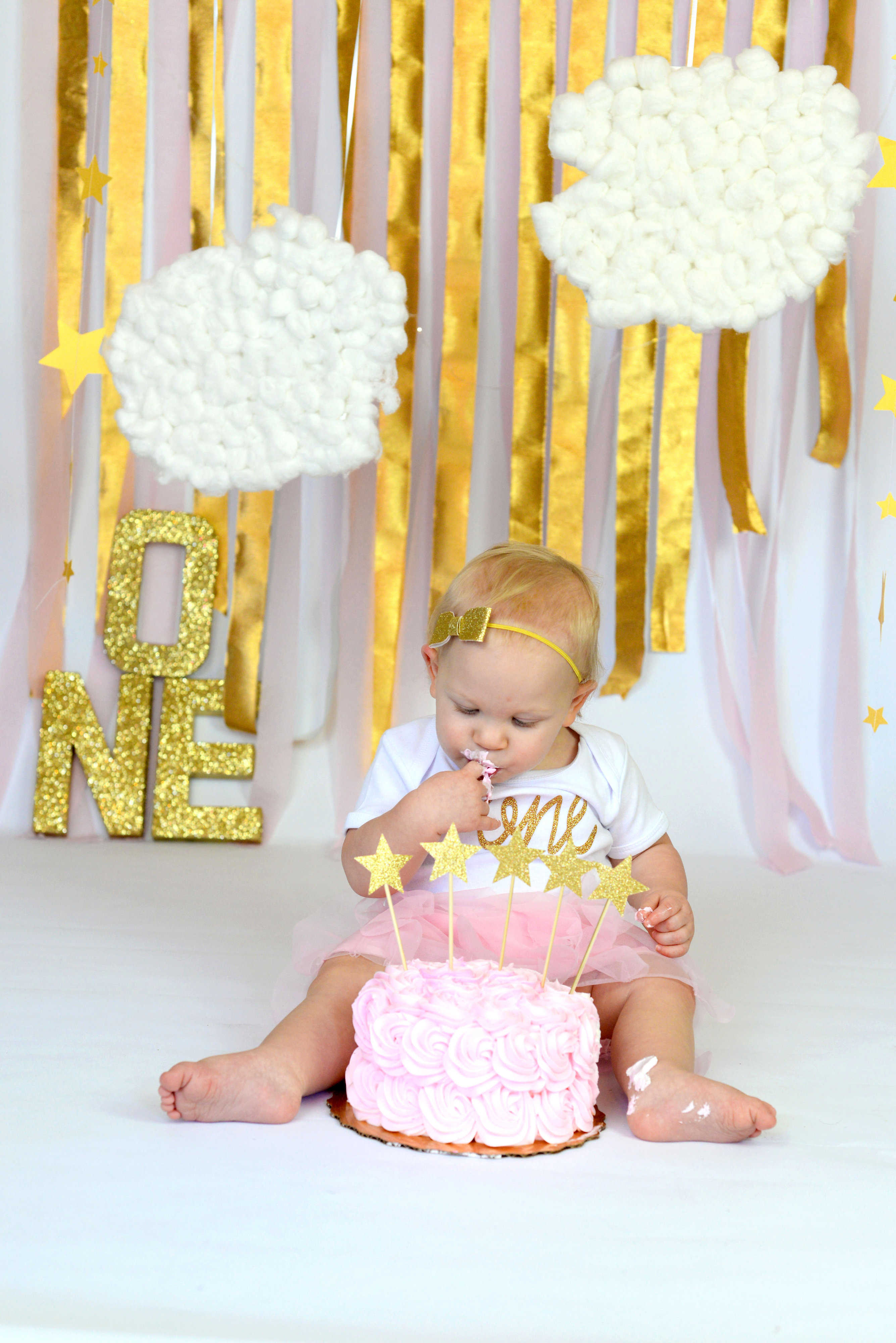 CJC Photography 1 Year Smash the Cake Session