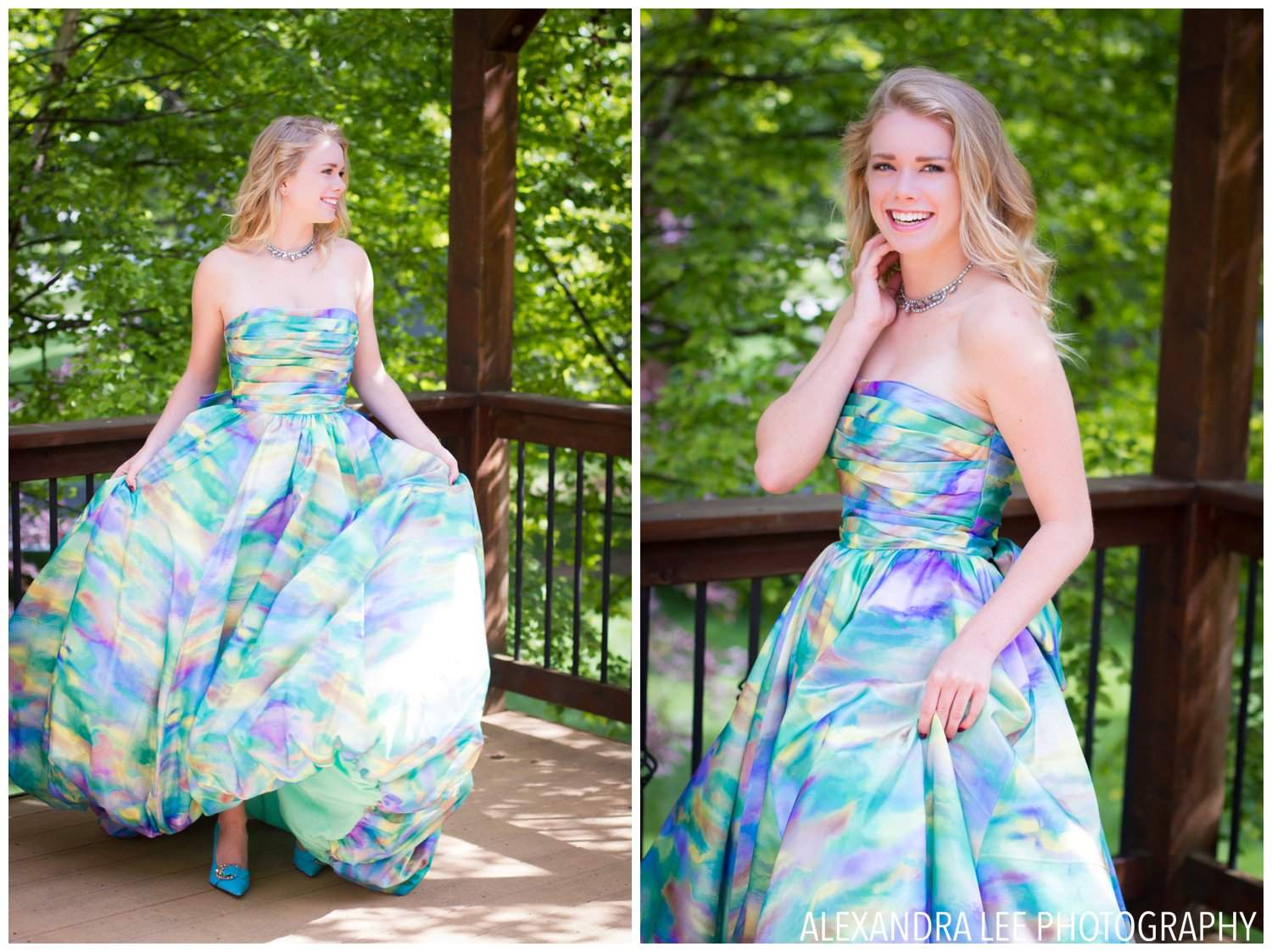 outdoor-senior-prom-dress-photo