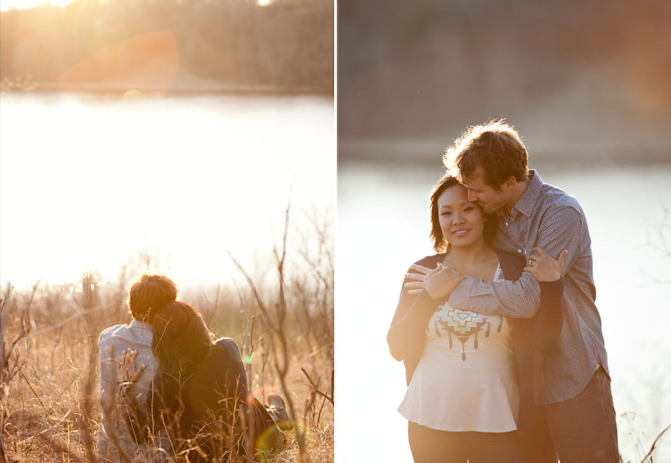 Minneapolis MN Outdoor Engagement Photographer