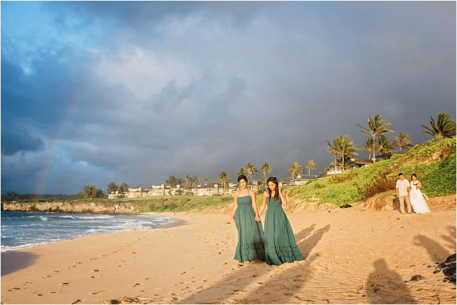 Maui Vow Renewal at Ironwood Beach in Kapalua by Mariah Milan and Maile Maui Weddings