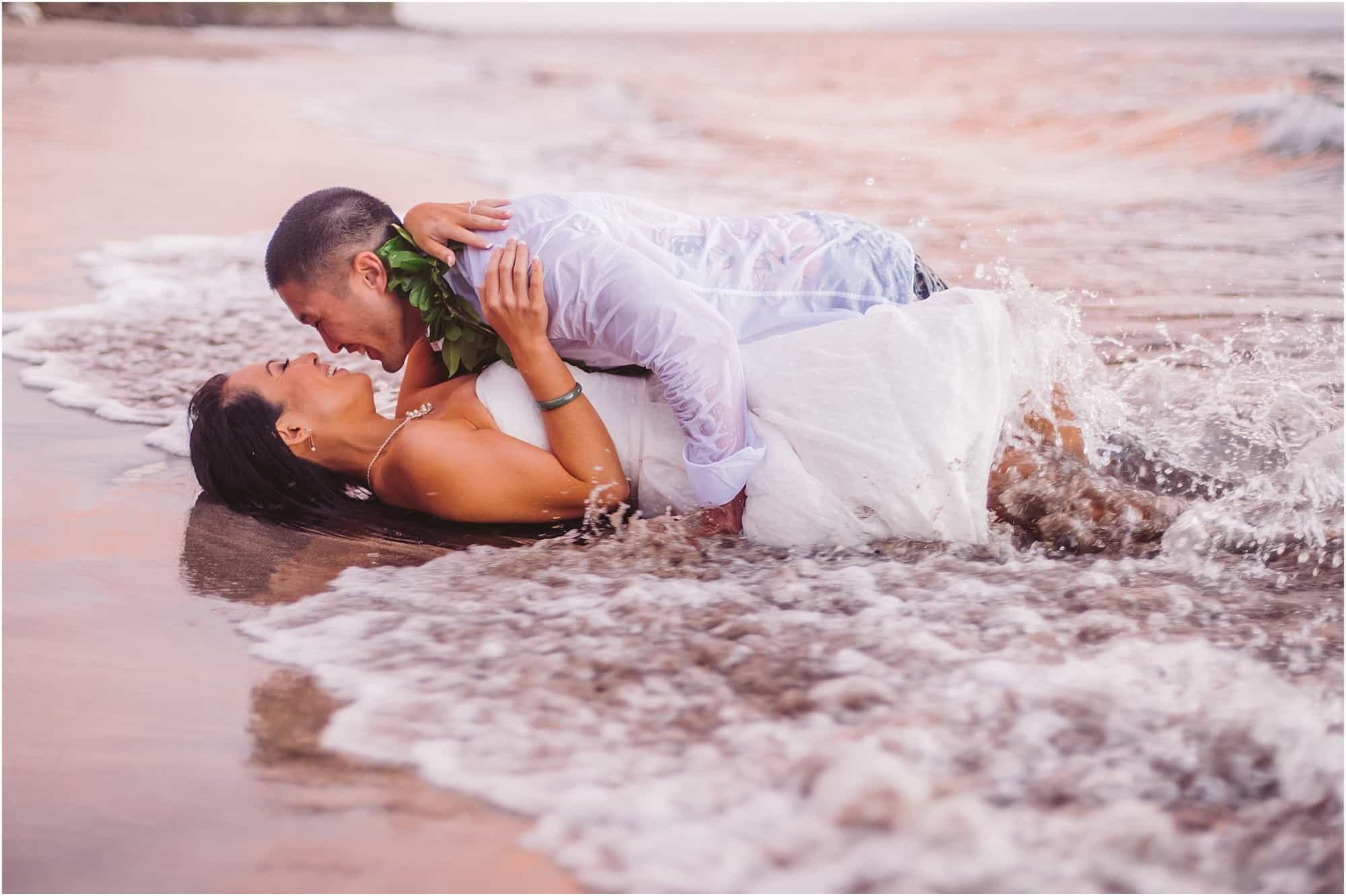Maui elopement by Mariah Milan and Maile Maui Weddings in Lahaina Hawaii
