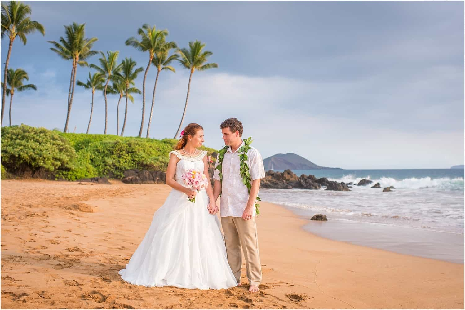 Maui Wedding by Mariah Milan and Maile Maui Weddings in Makena Hawaii