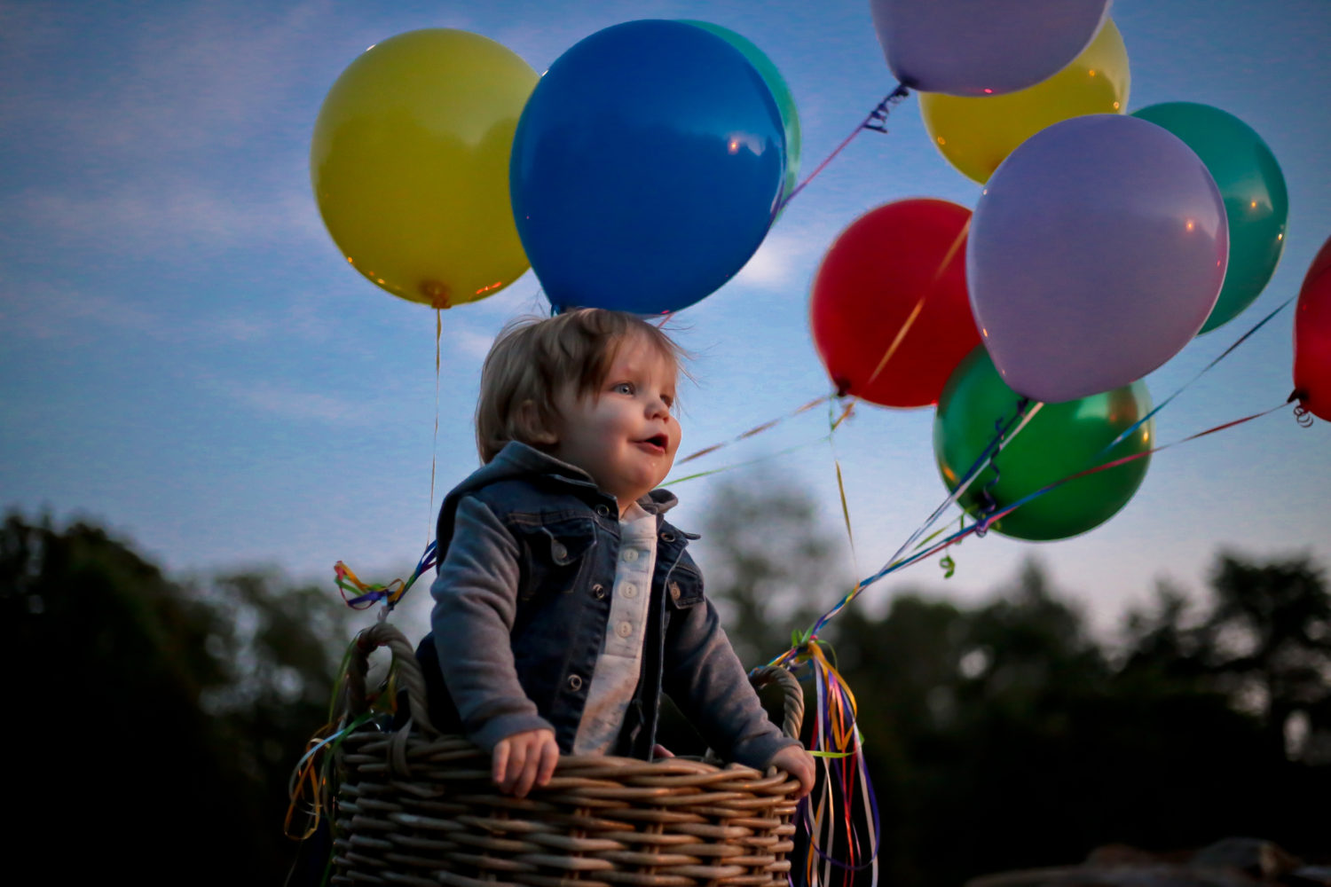 Photography - Balloon Baby