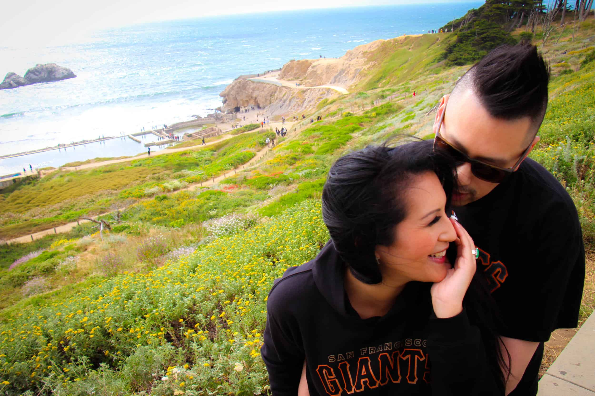 Land's End San Francisco California Engagement Shoot