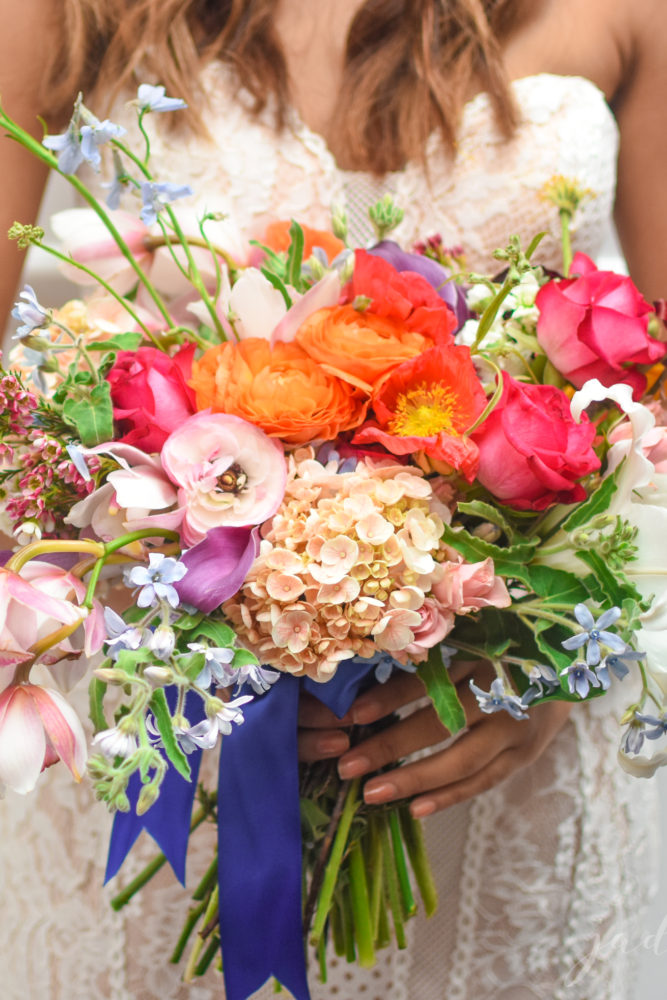 Colorful Floral Bouquet - © Jade Elora Photography
