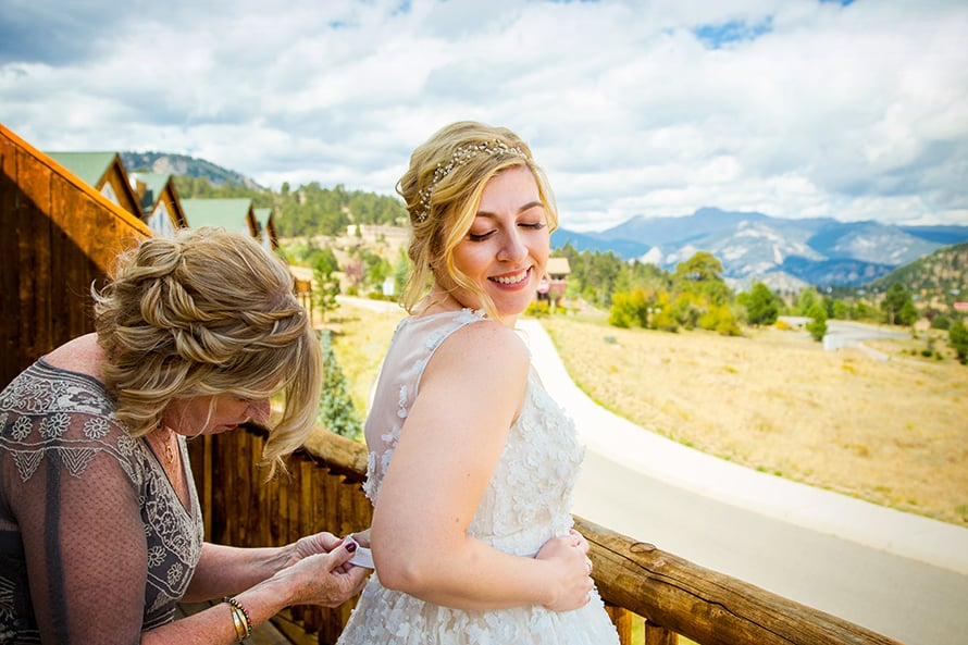 Marys lake lodge wedding photos