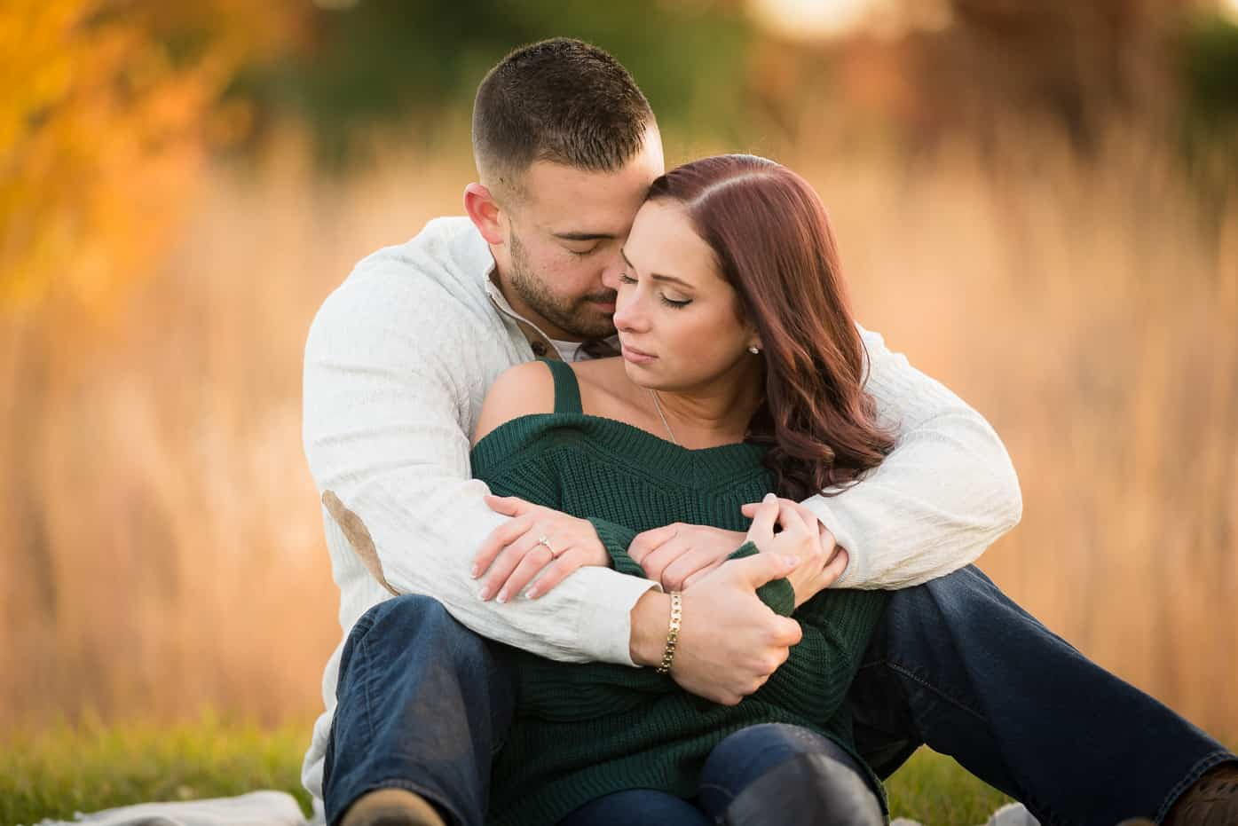 Fall is for Falling in Love - A Spectacular Engagement Photo Shoot