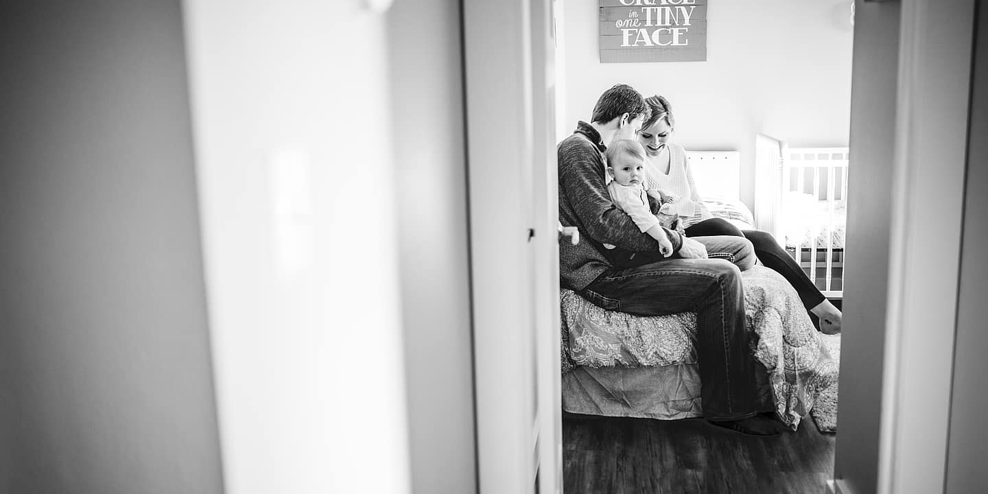 Lifestyle Newborn Photographer in Great Falls, Montana