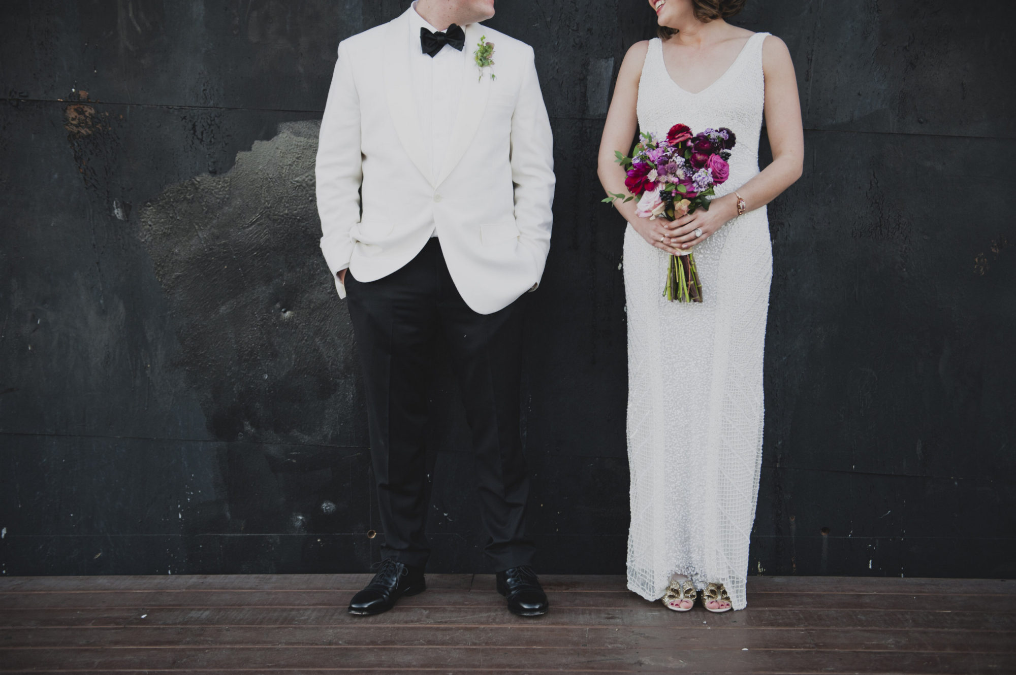 Industrial Glam NYC Wedding by Kelly McVeigh Events