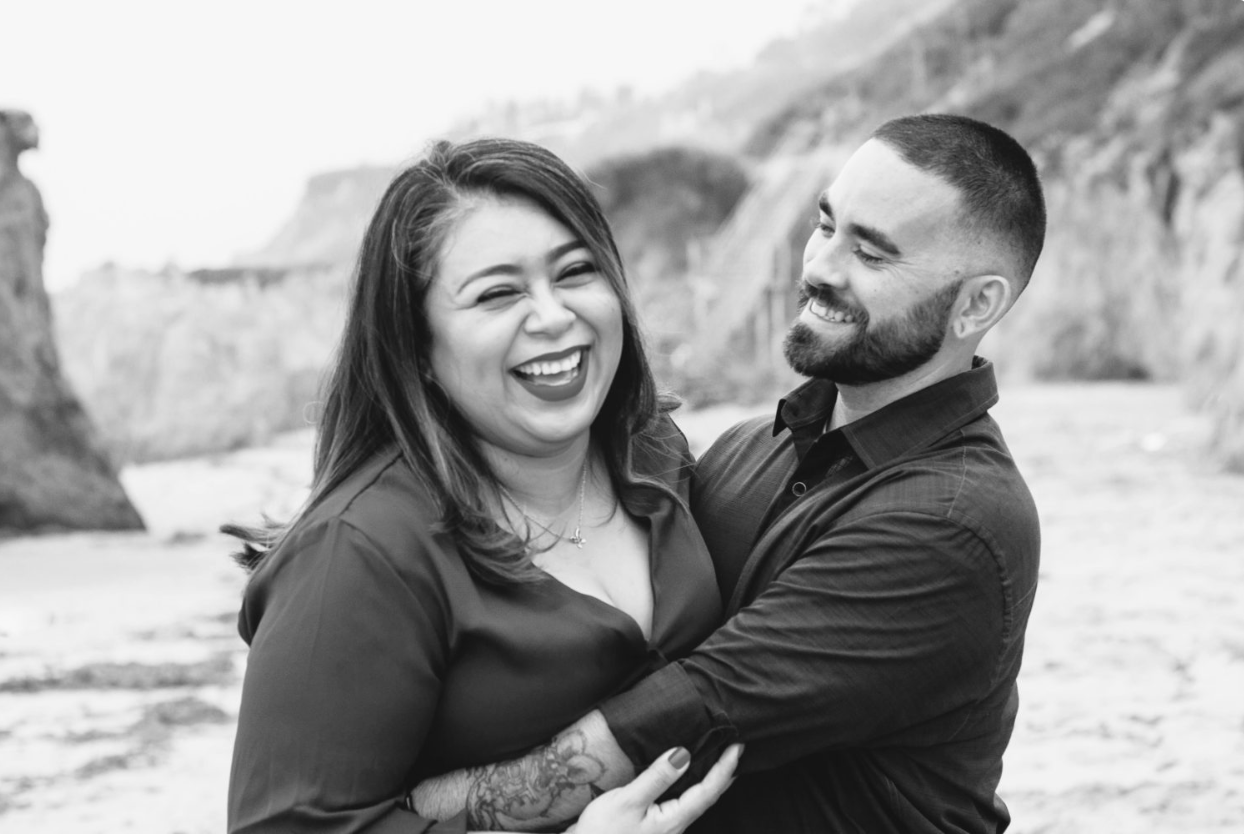 El Matador Beach Engagement Session by Katie Chavarin Photography