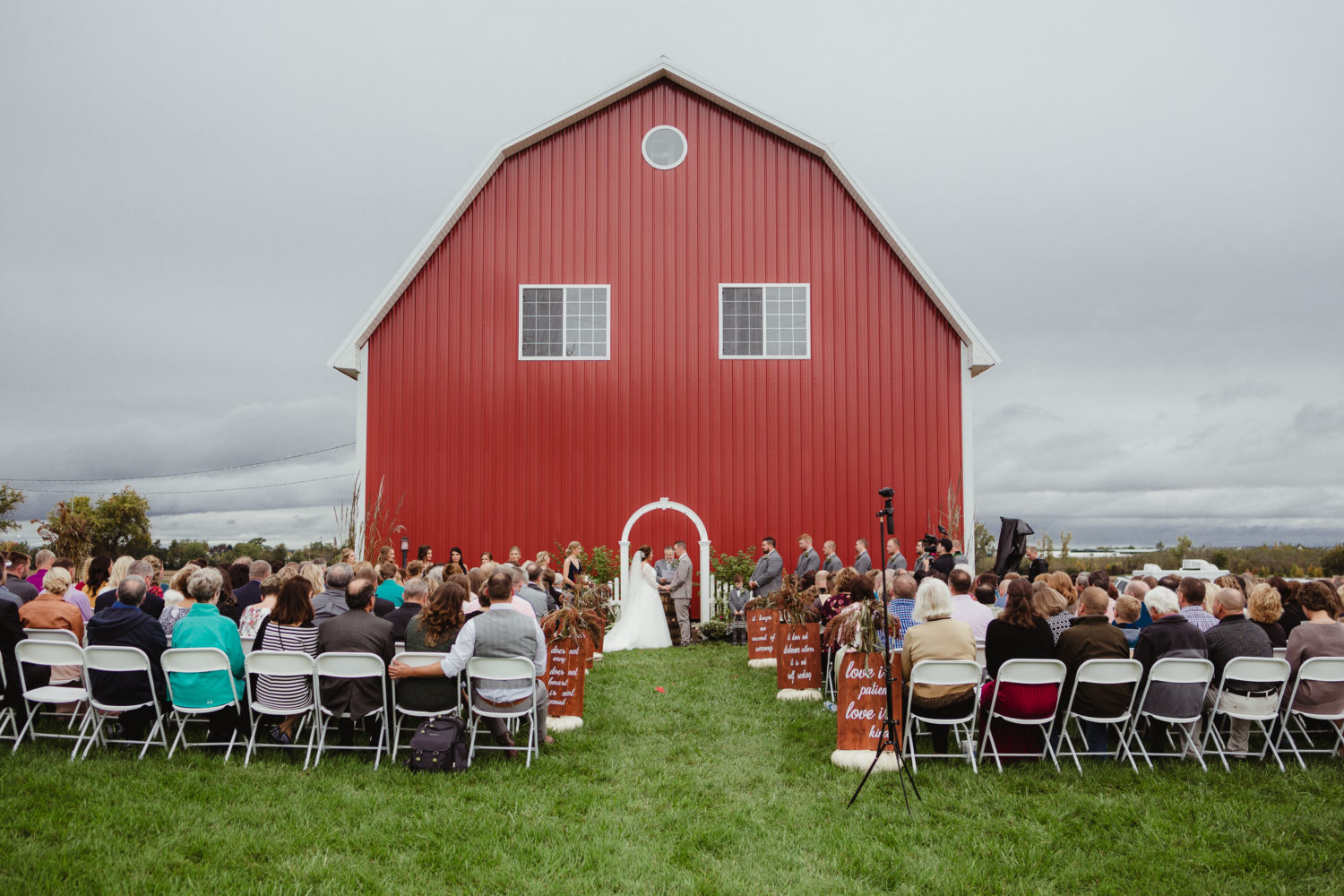Amanda Steffke Photography - Wide Ceremony Shot