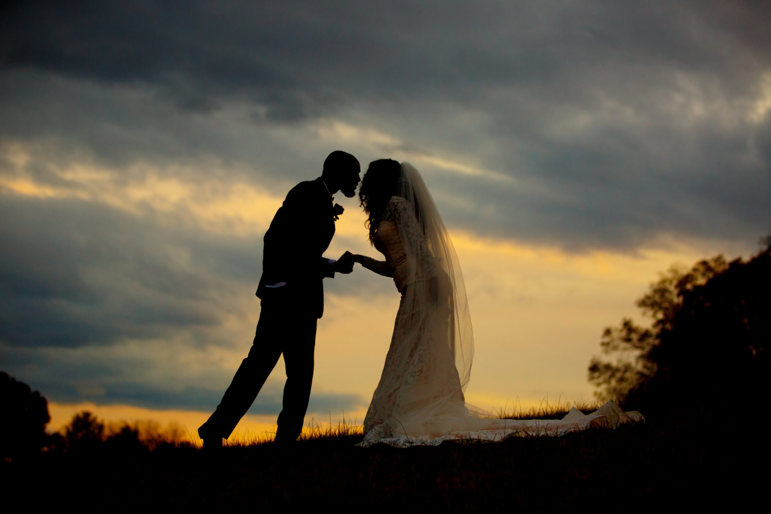 Sunset kiss at Storybrook Farm by Cable Photography