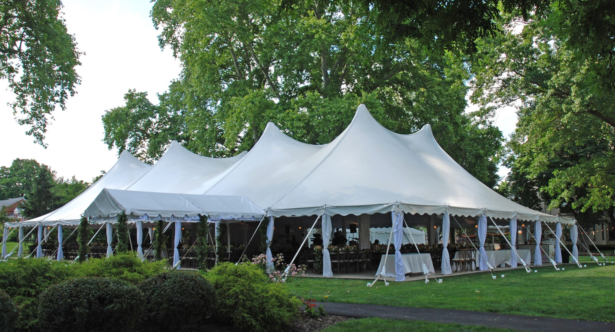 Tented Events With Partysavvy Pittsburgh Wedding Rentals
