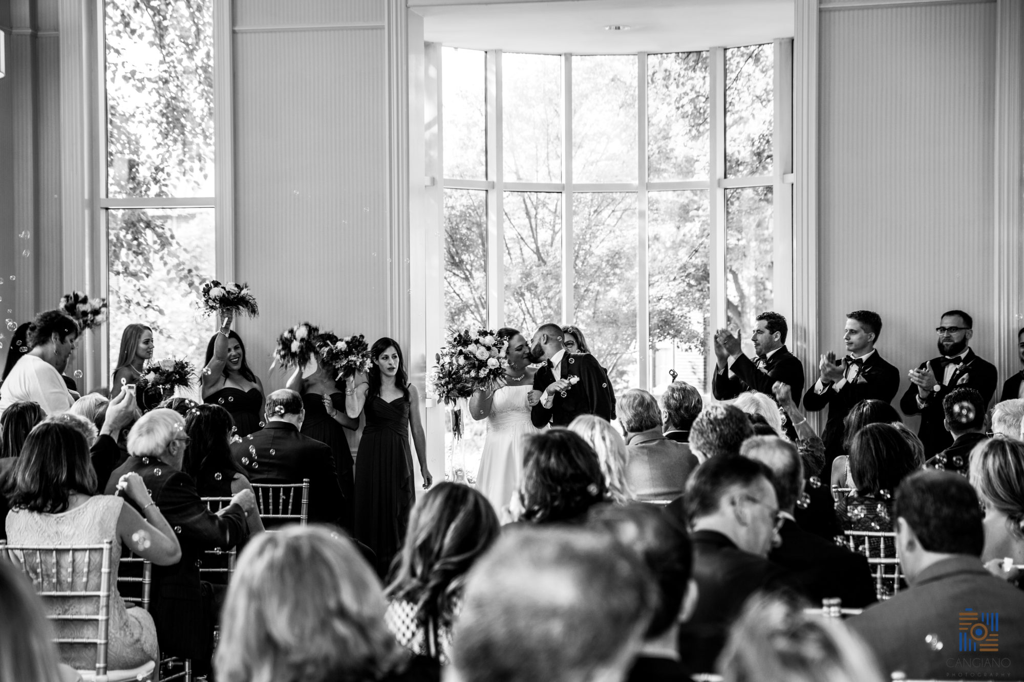 Cangiano Photography | Why I Still Love Black and White Wedding Photography